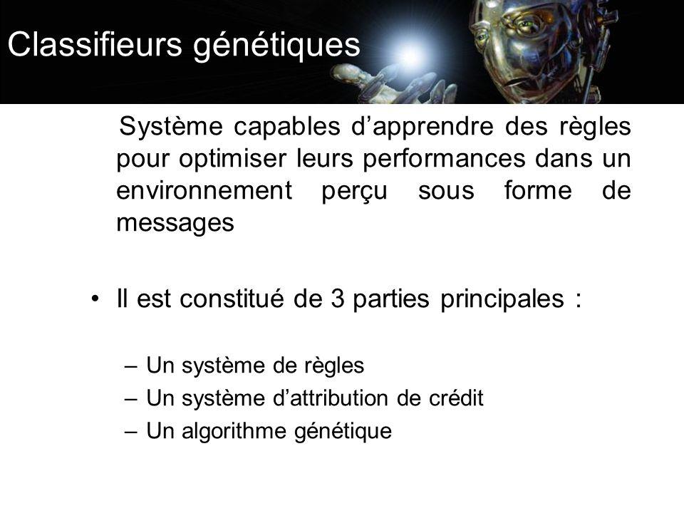 Classifieurs génétiques