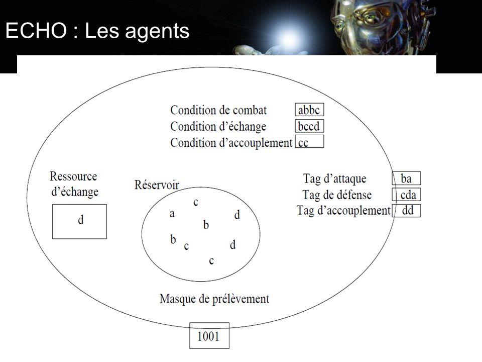 ECHO : Les agents