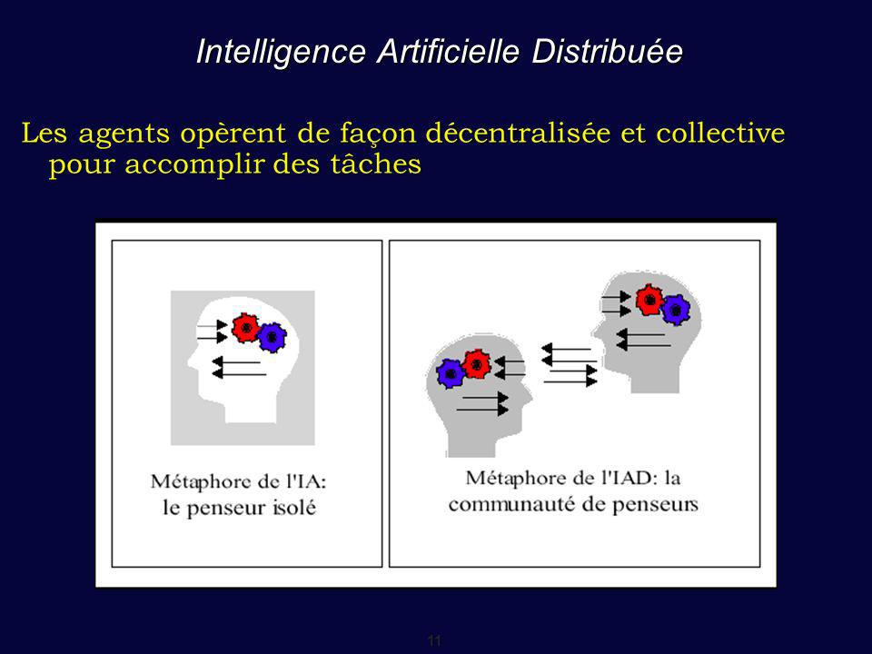 Intelligence Artificielle Distribuée