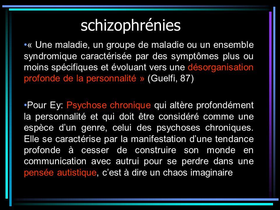 schizophrénies