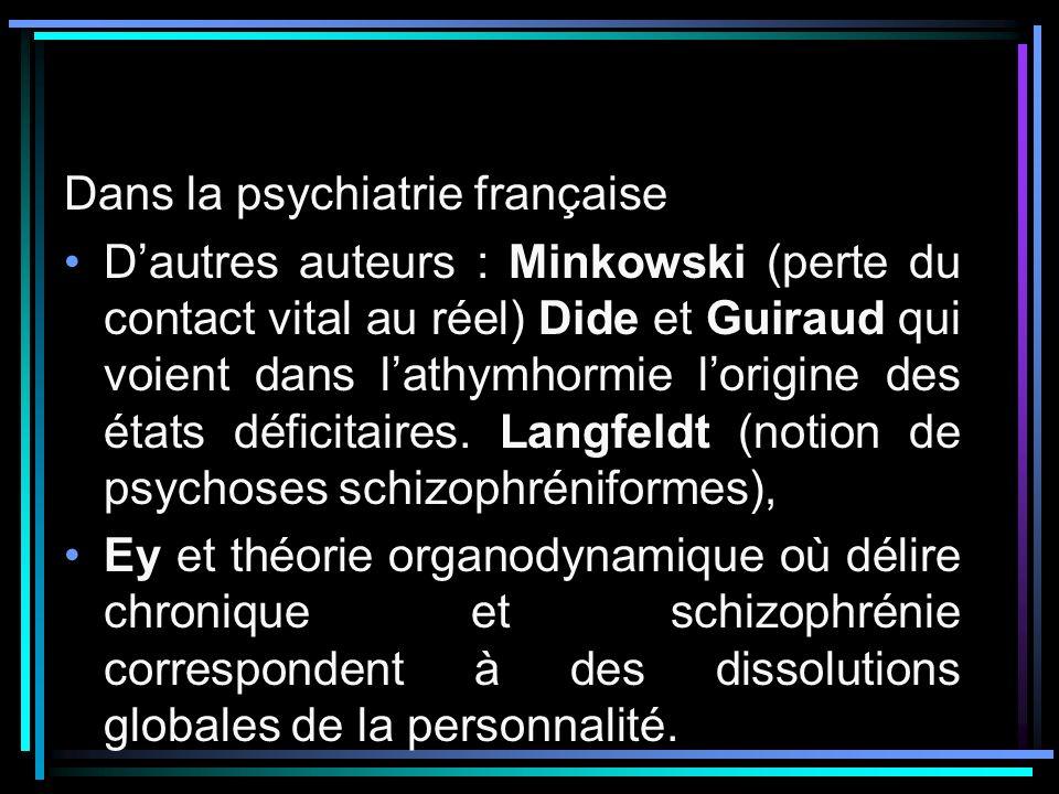 Dans la psychiatrie française