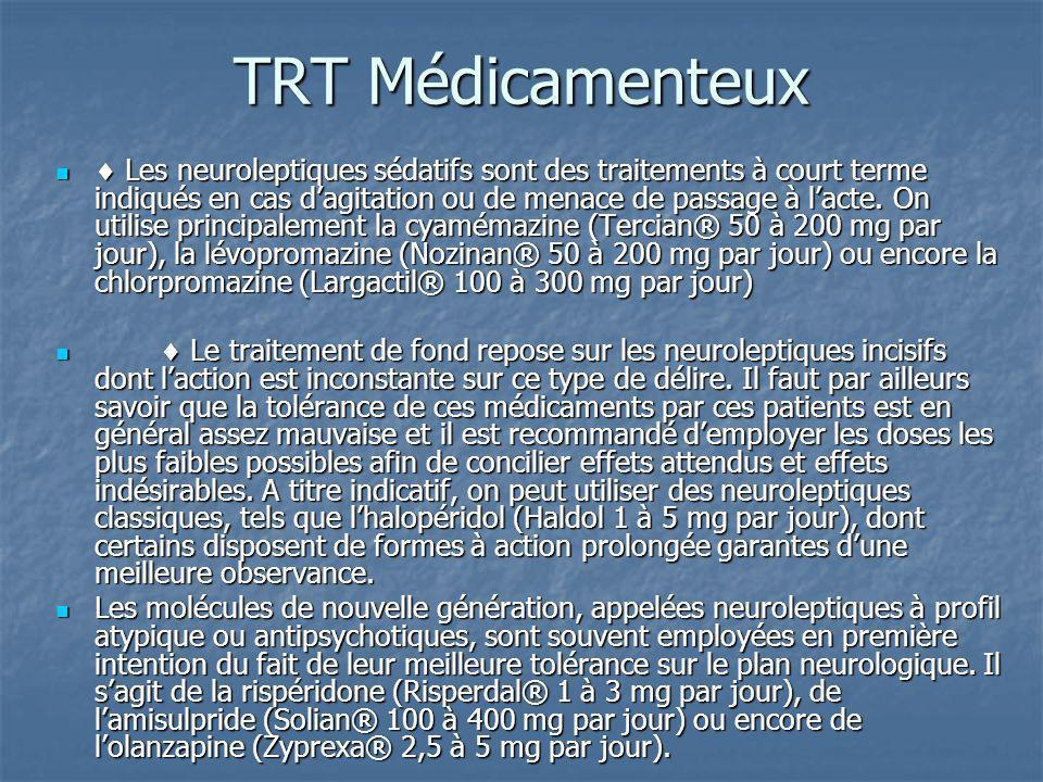 TRT Médicamenteux