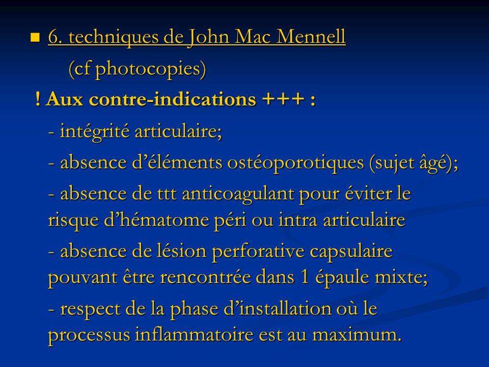 6. techniques de John Mac Mennell