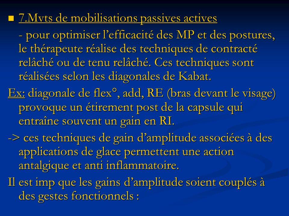 7.Mvts de mobilisations passives actives