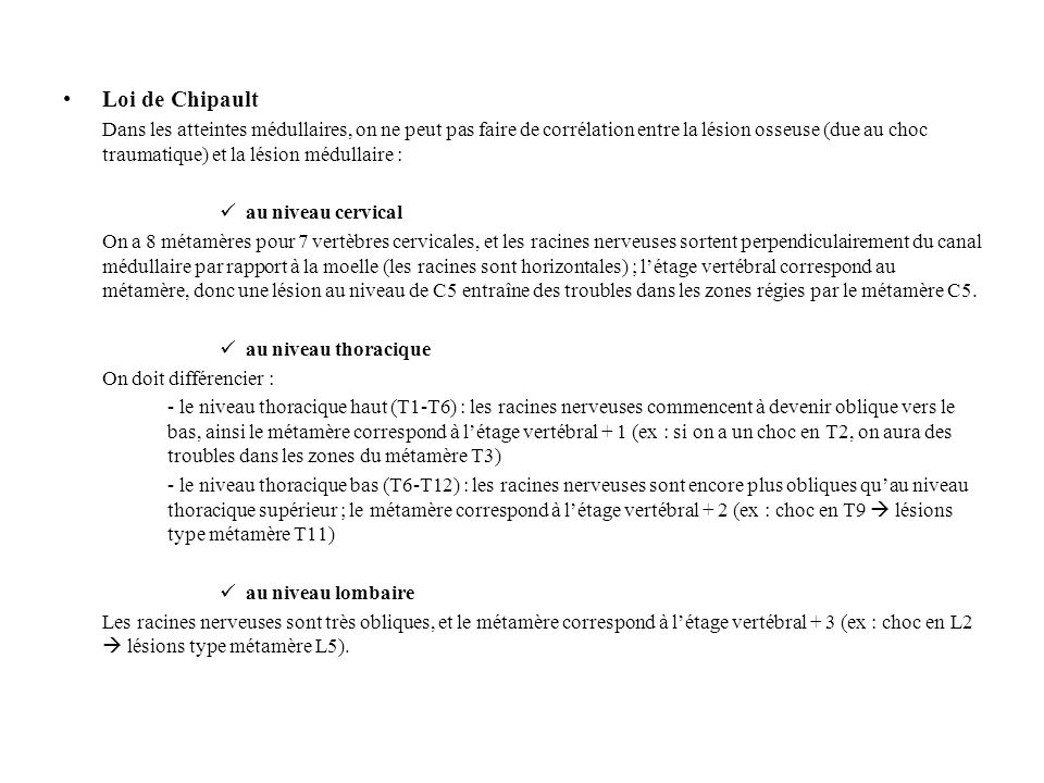 Loi de Chipault