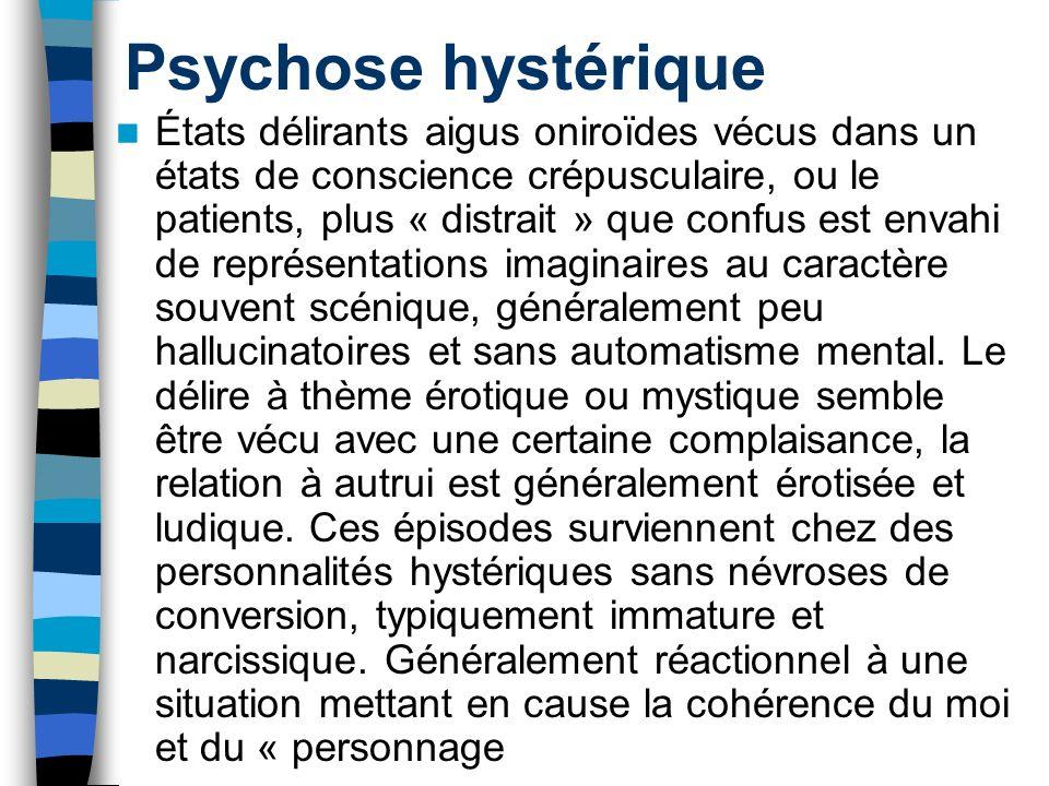 Psychose hystérique