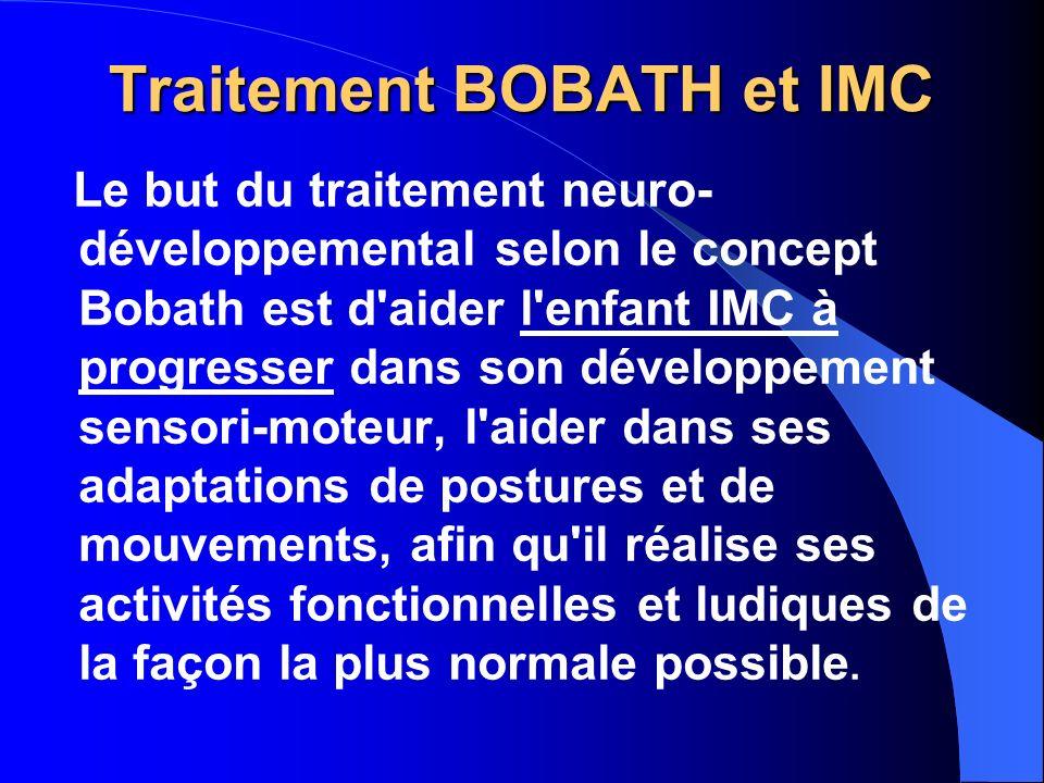 Traitement BOBATH et IMC