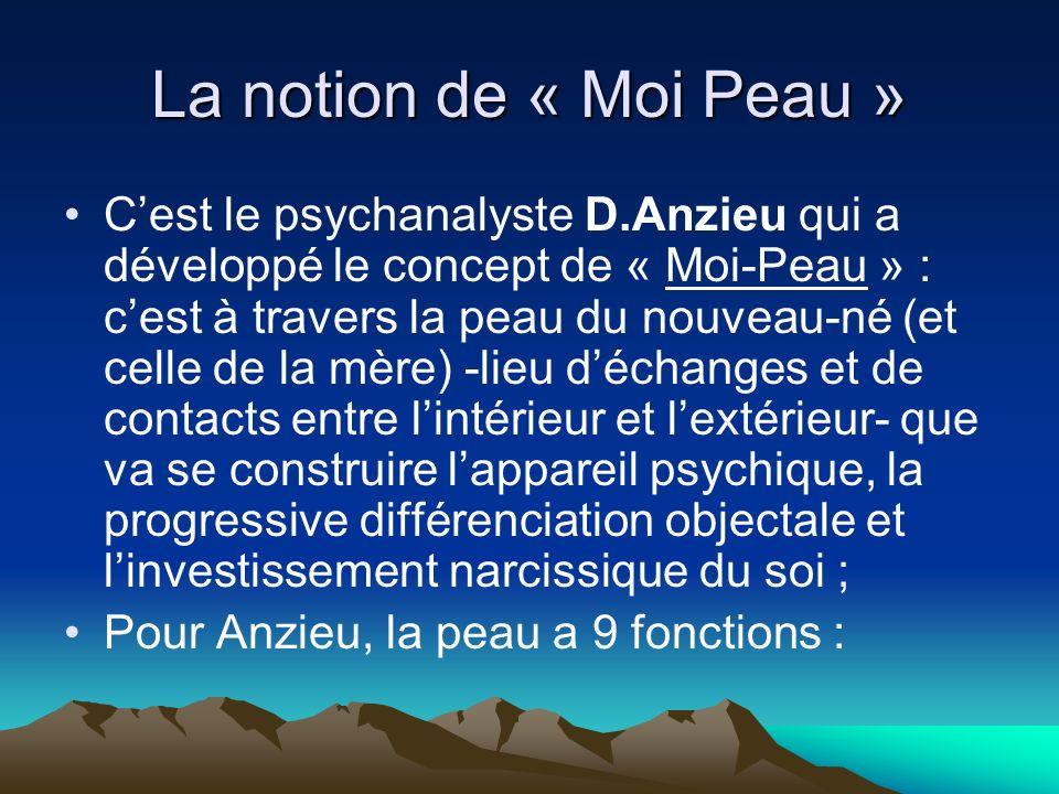 La notion de « Moi Peau »