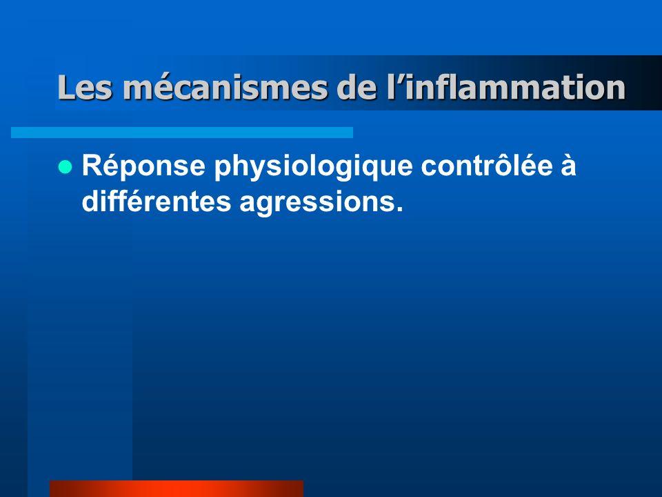 Les mécanismes de l'inflammation