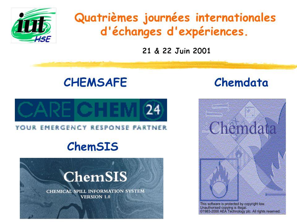 CHEMSAFE Chemdata ChemSIS
