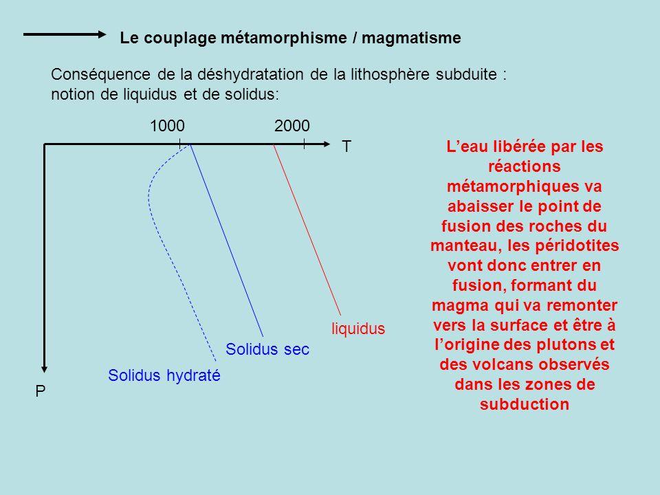 Le couplage métamorphisme / magmatisme