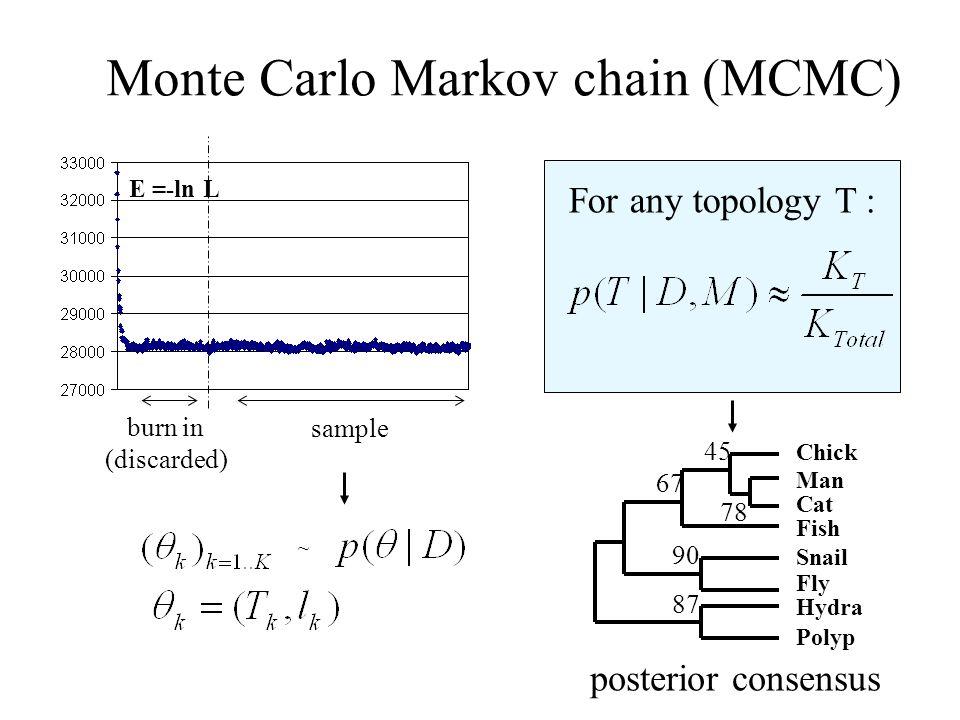 Monte Carlo Markov chain (MCMC)