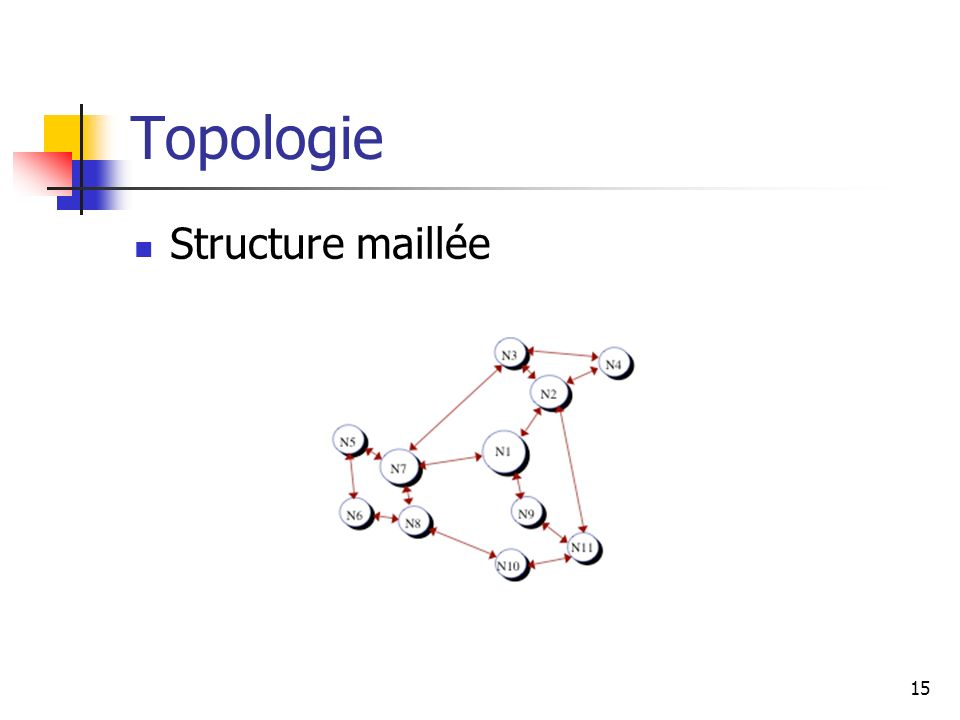 Topologie Structure maillée