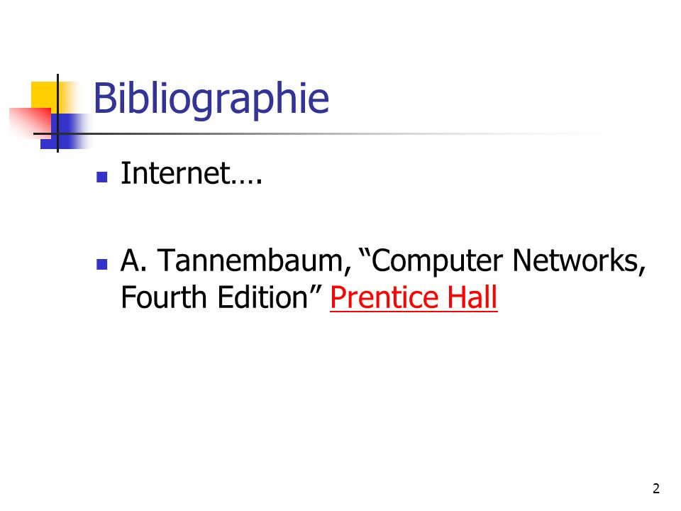 Bibliographie Internet….