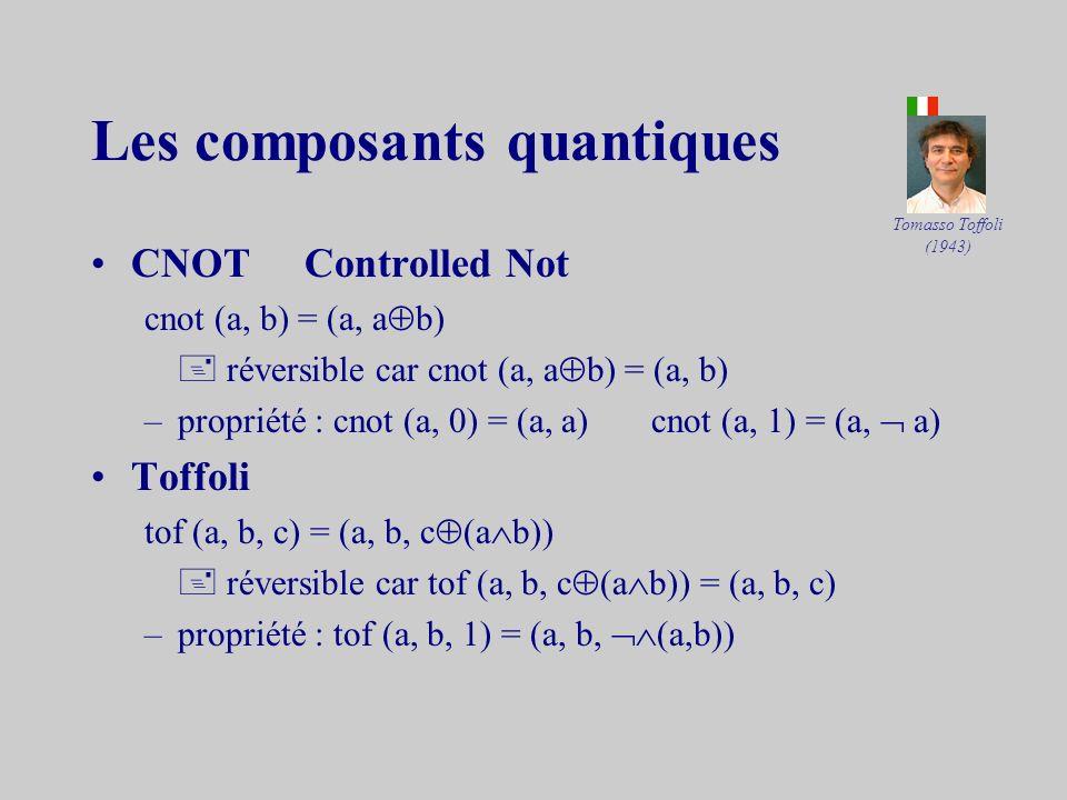 Les composants quantiques
