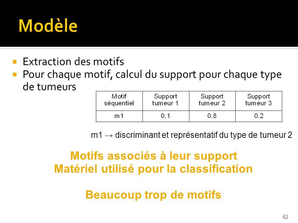 Modèle Extraction des motifs
