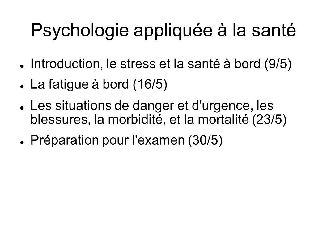 Psychologie appliquée à la santé