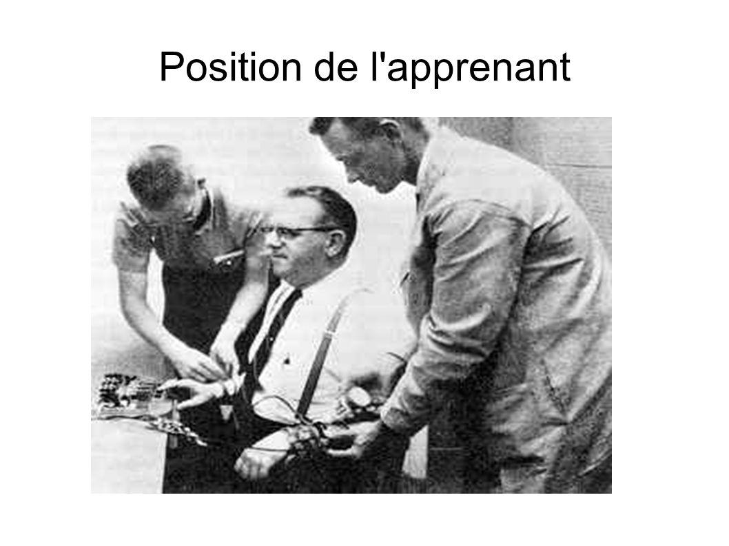 Position de l apprenant