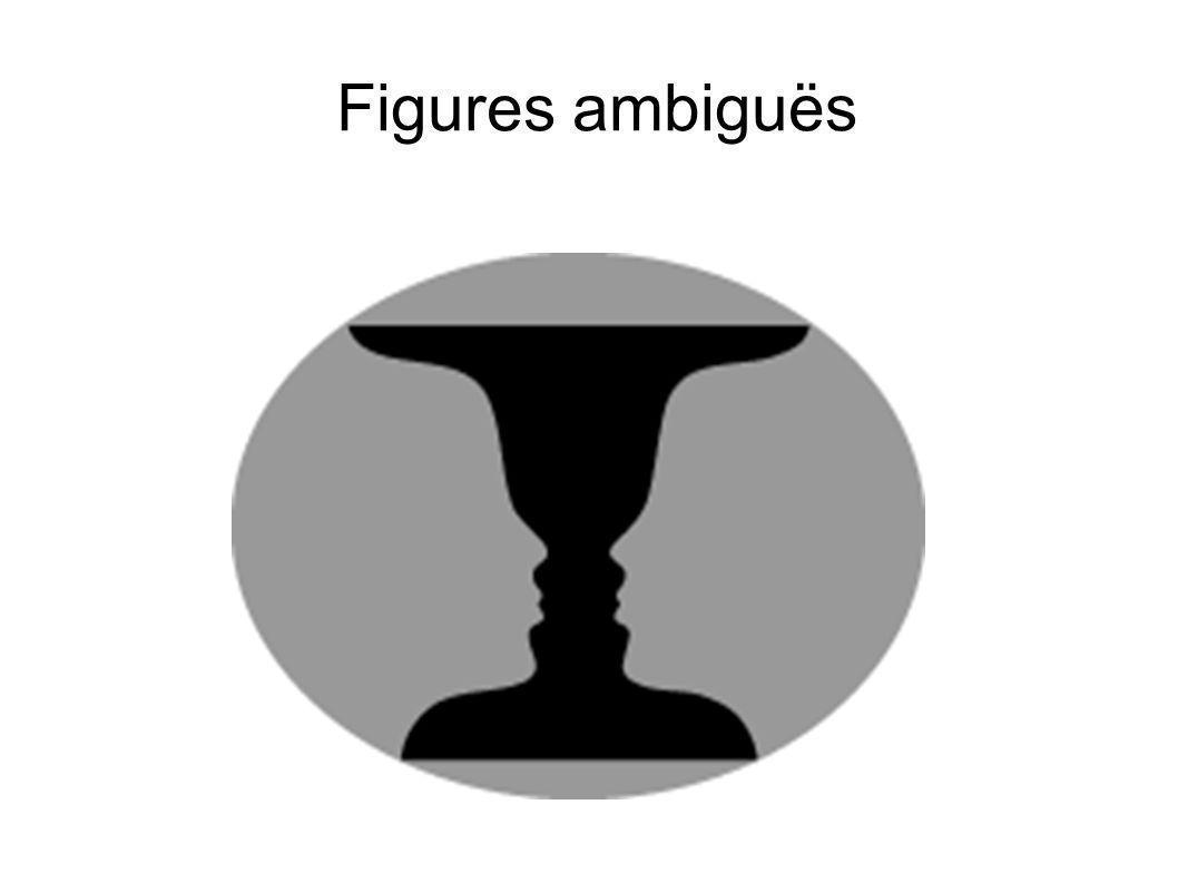 Figures ambiguës vase ou visages