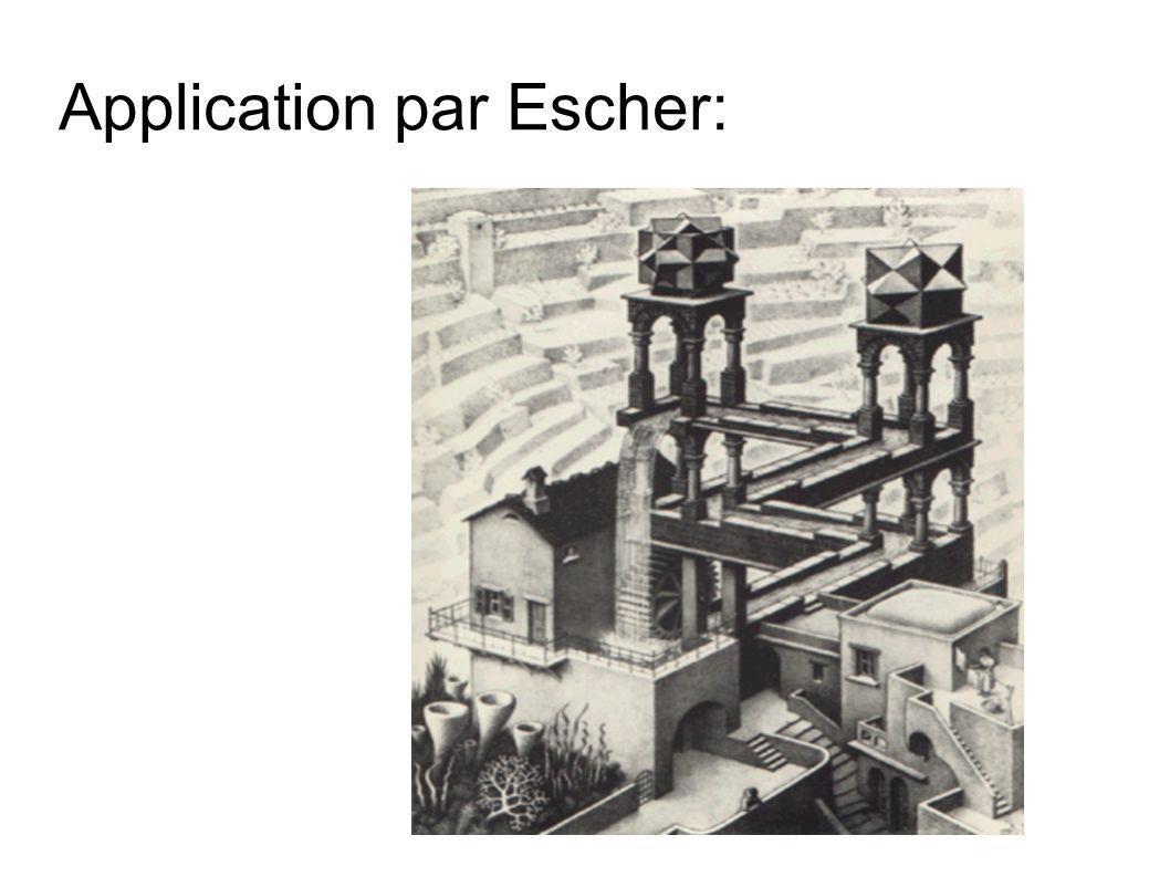 Application par Escher: