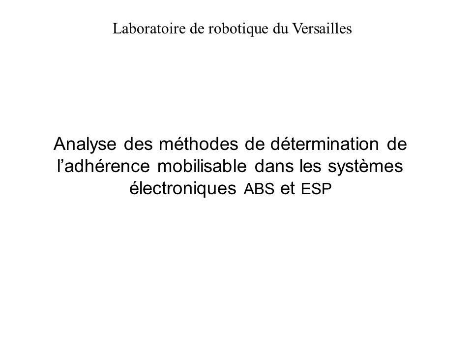 Laboratoire de robotique du Versailles