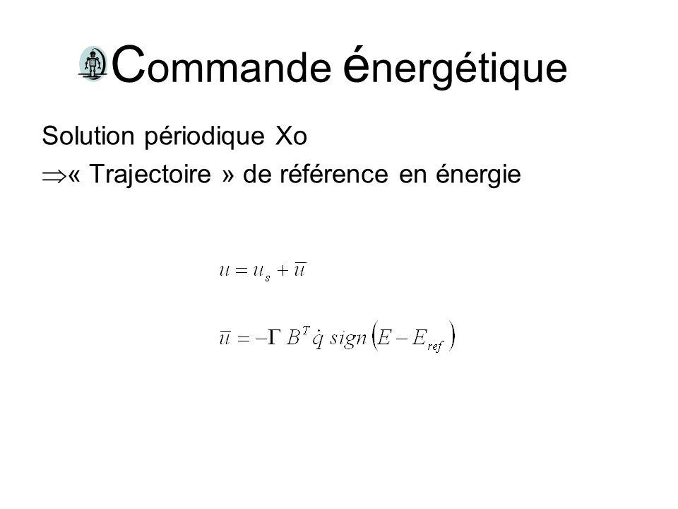 Commande énergétique Solution périodique Xo
