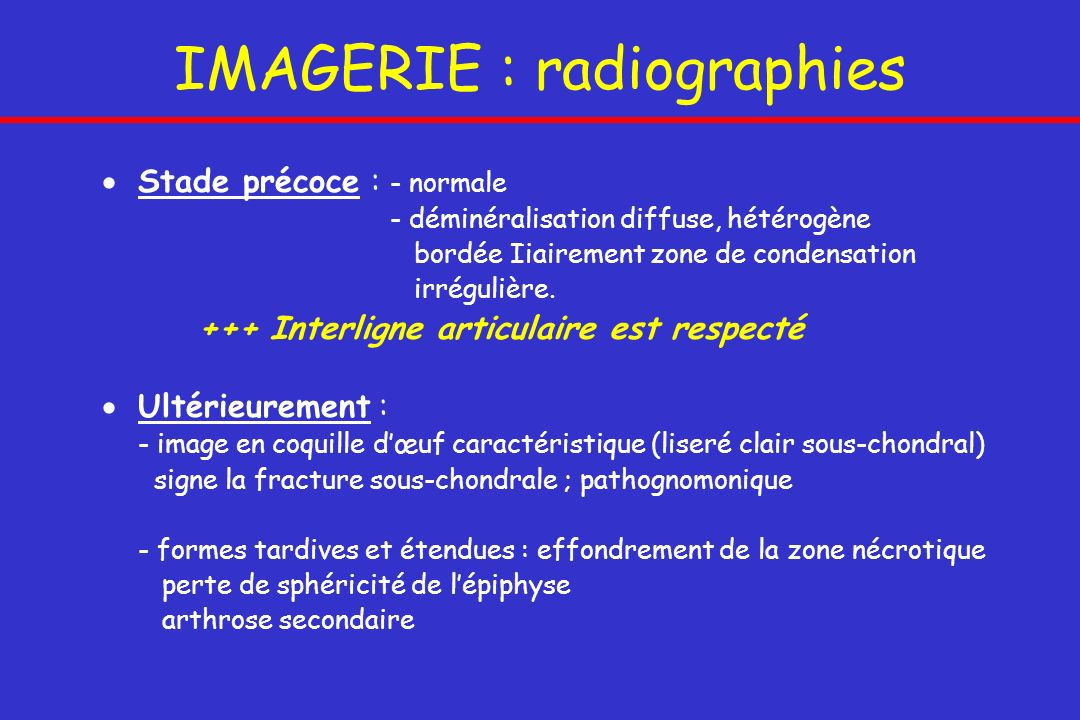 IMAGERIE : radiographies