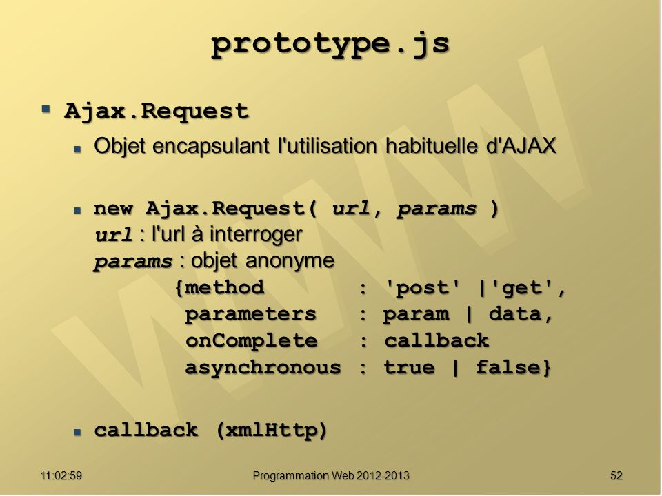 prototype.js Ajax.Request