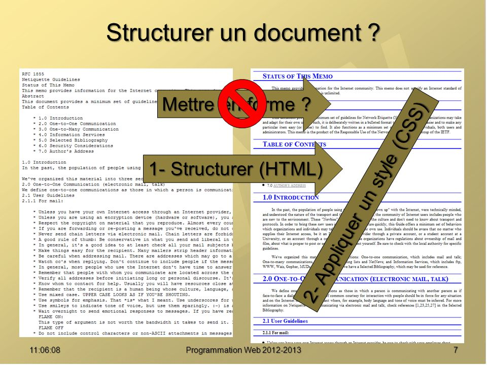 Structurer un document