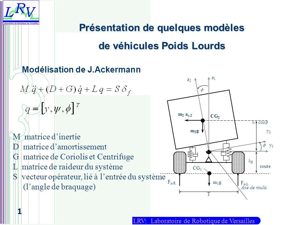 Présentation de quelques modèles de véhicules Poids Lourds
