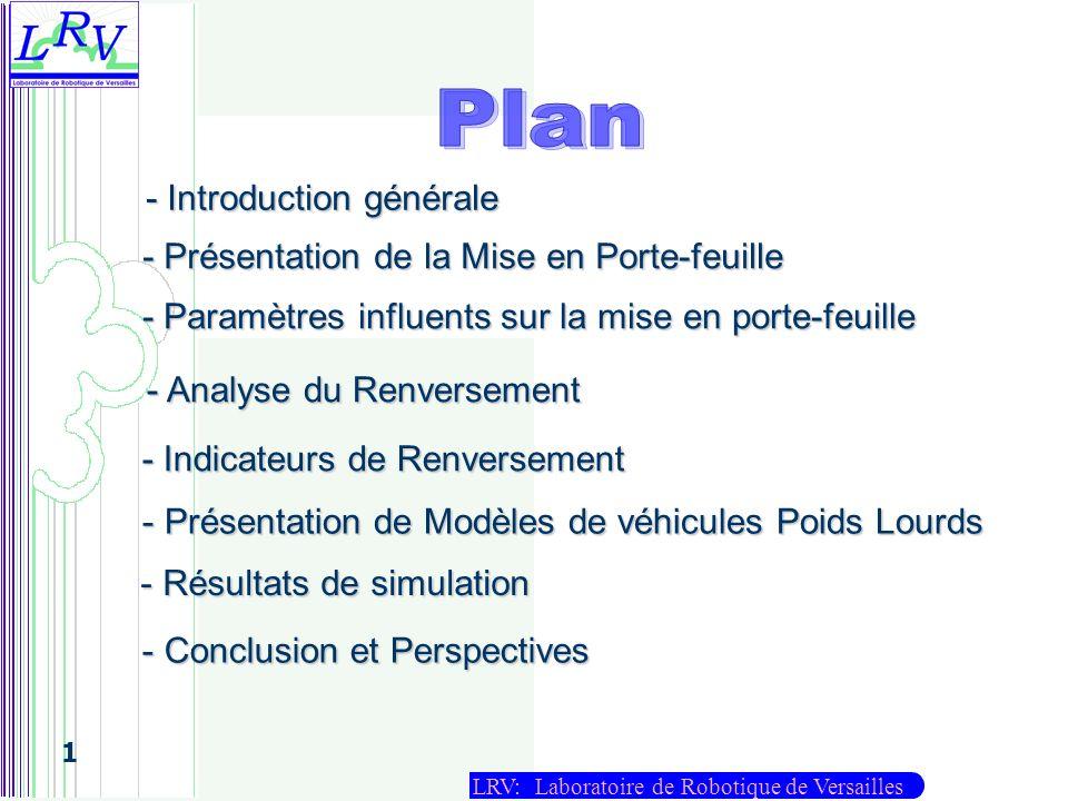 Plan - Introduction générale