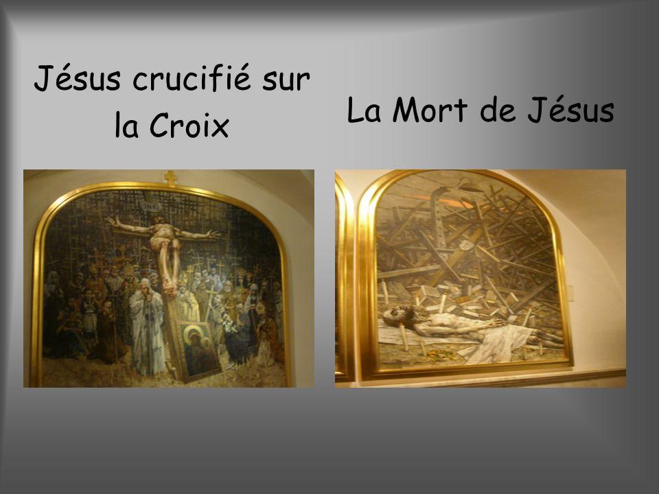 Jésus crucifié sur la Croix