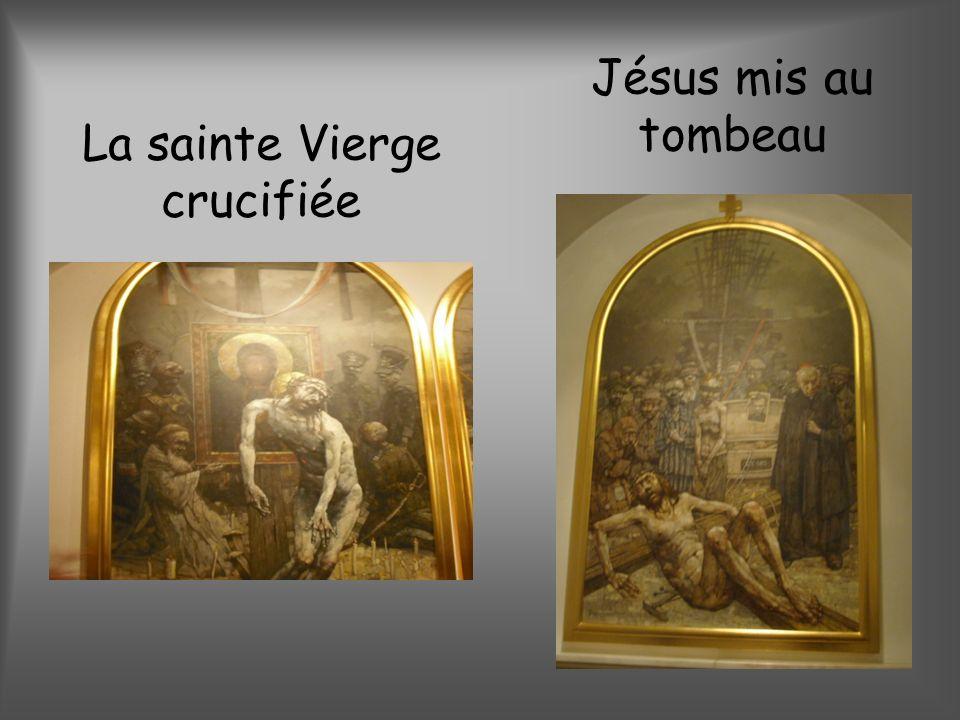 La sainte Vierge crucifiée
