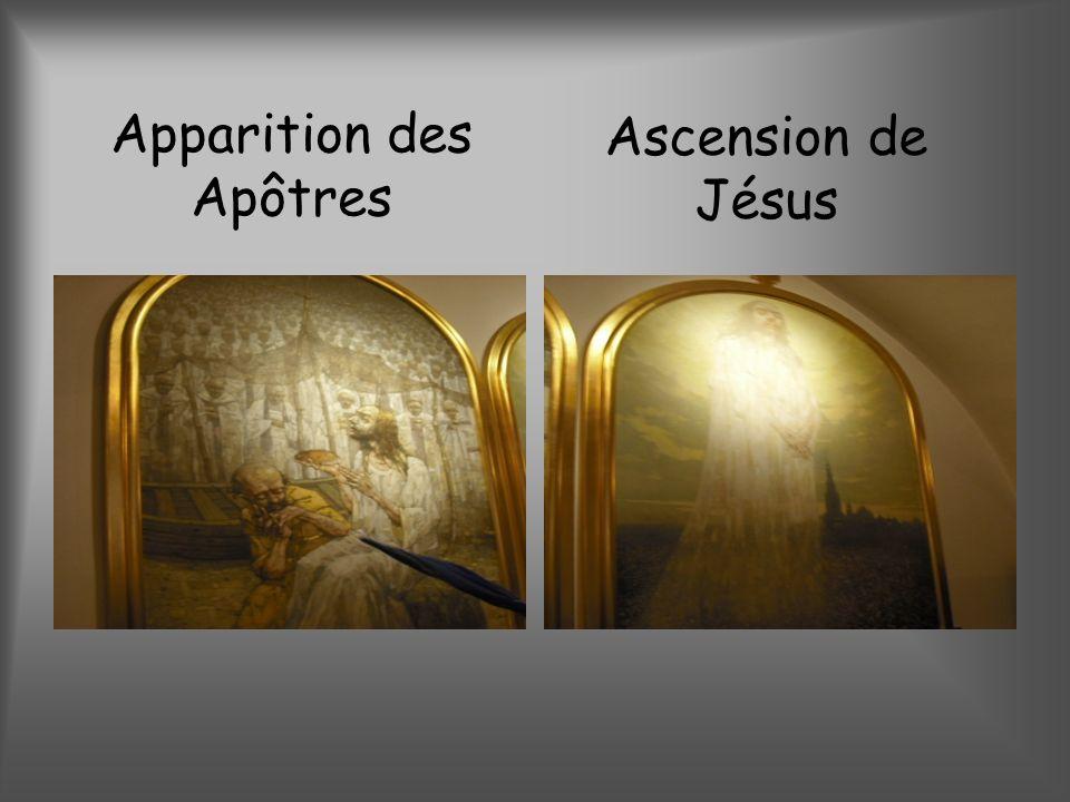 Apparition des Apôtres