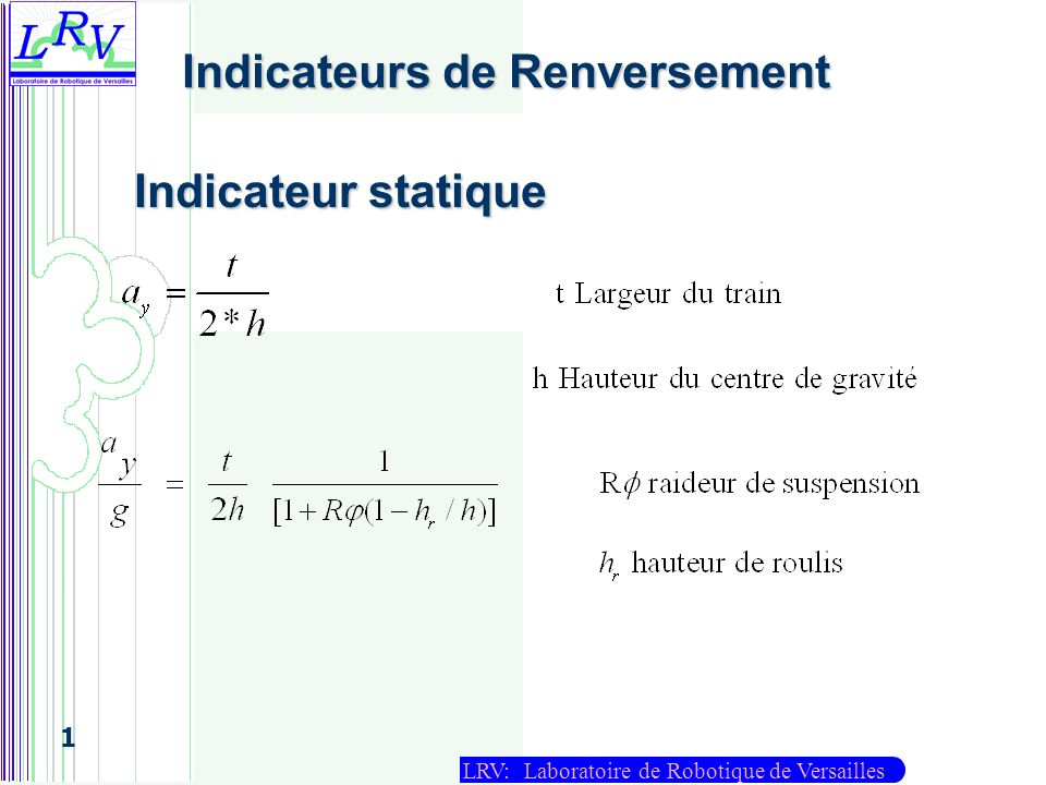 Indicateurs de Renversement