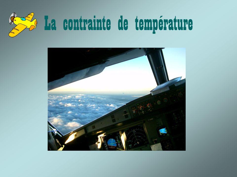 La contrainte de température