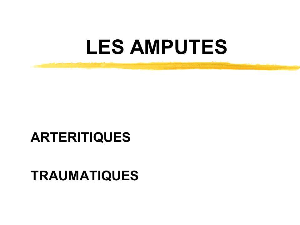ARTERITIQUES TRAUMATIQUES