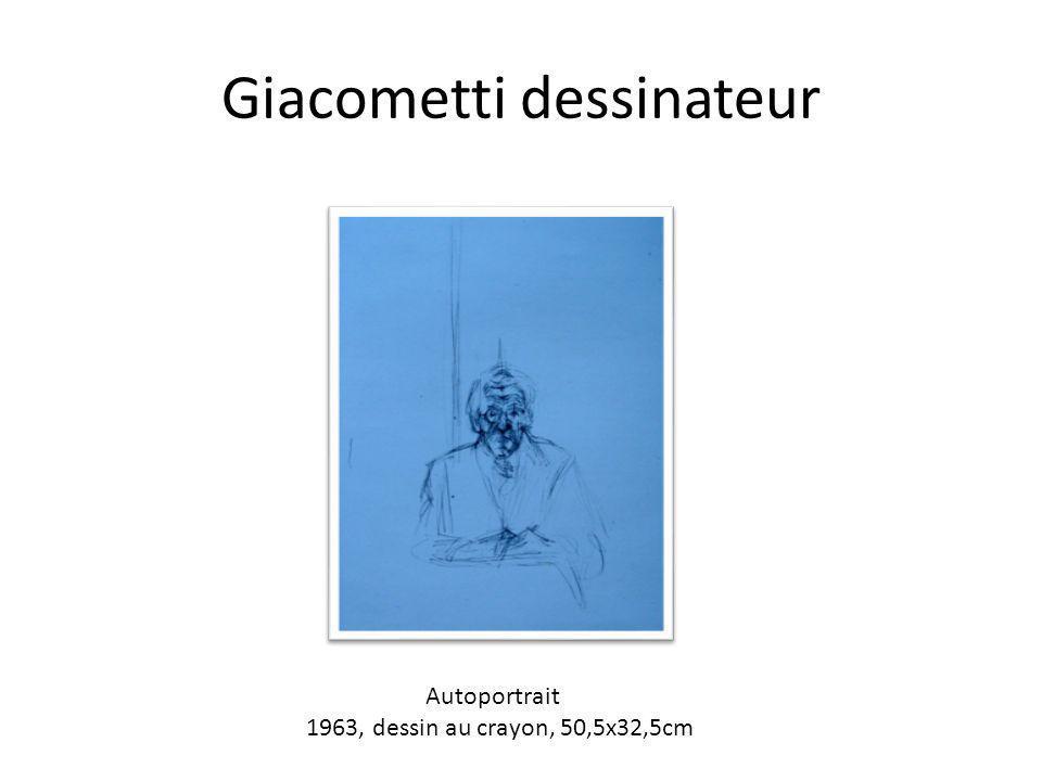 Giacometti dessinateur