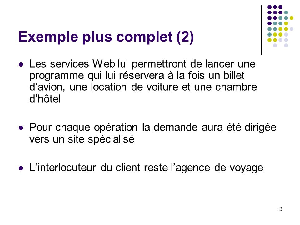 Exemple plus complet (2)