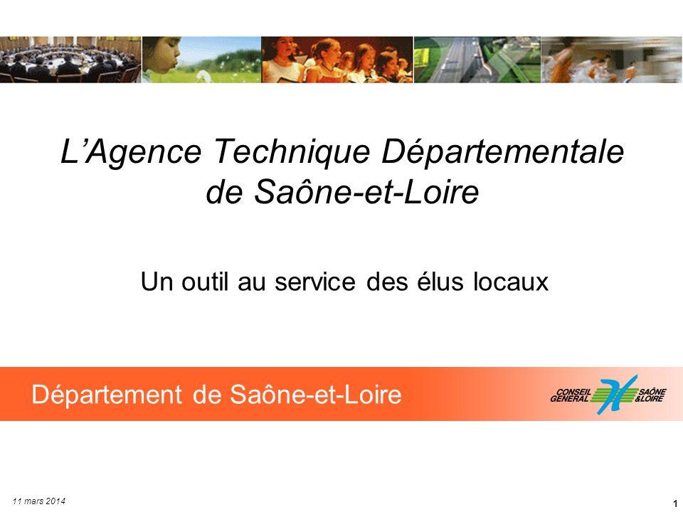 L'Agence Technique Départementale de Saône-et-Loire