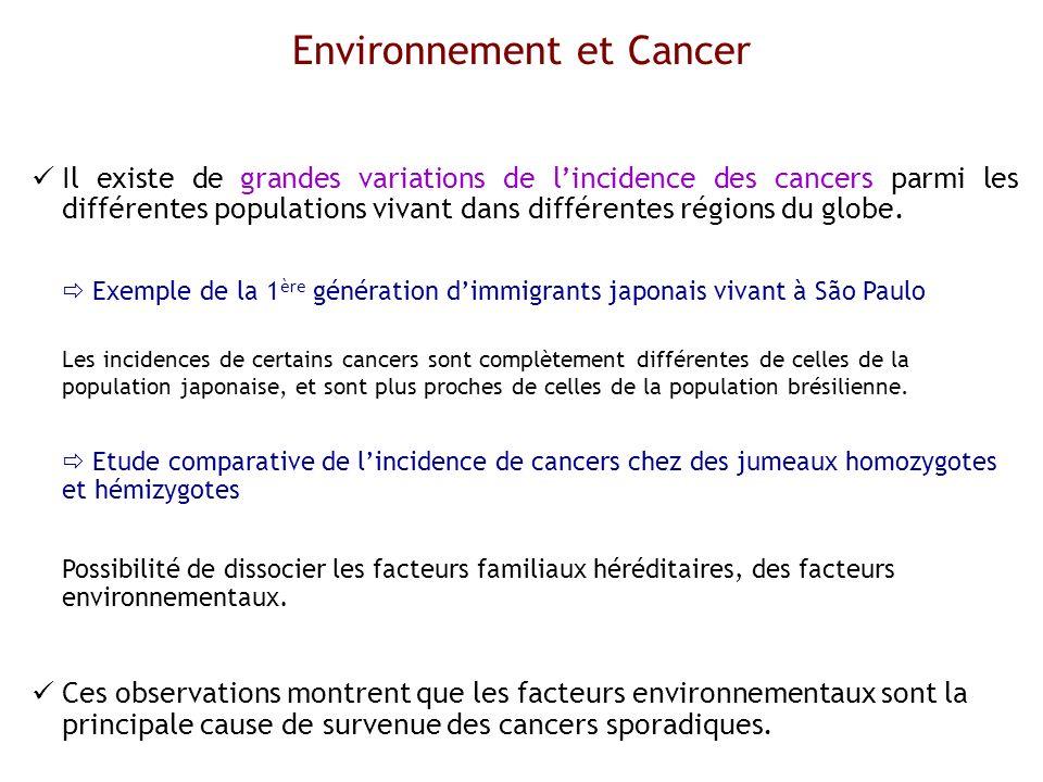 Environnement et Cancer