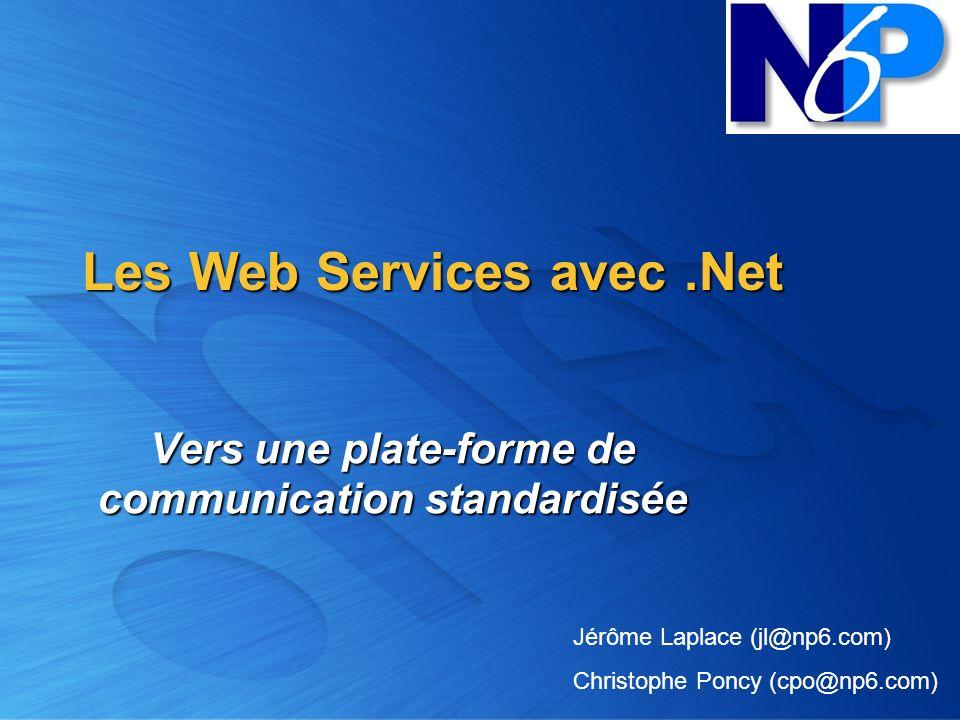 Les Web Services avec .Net
