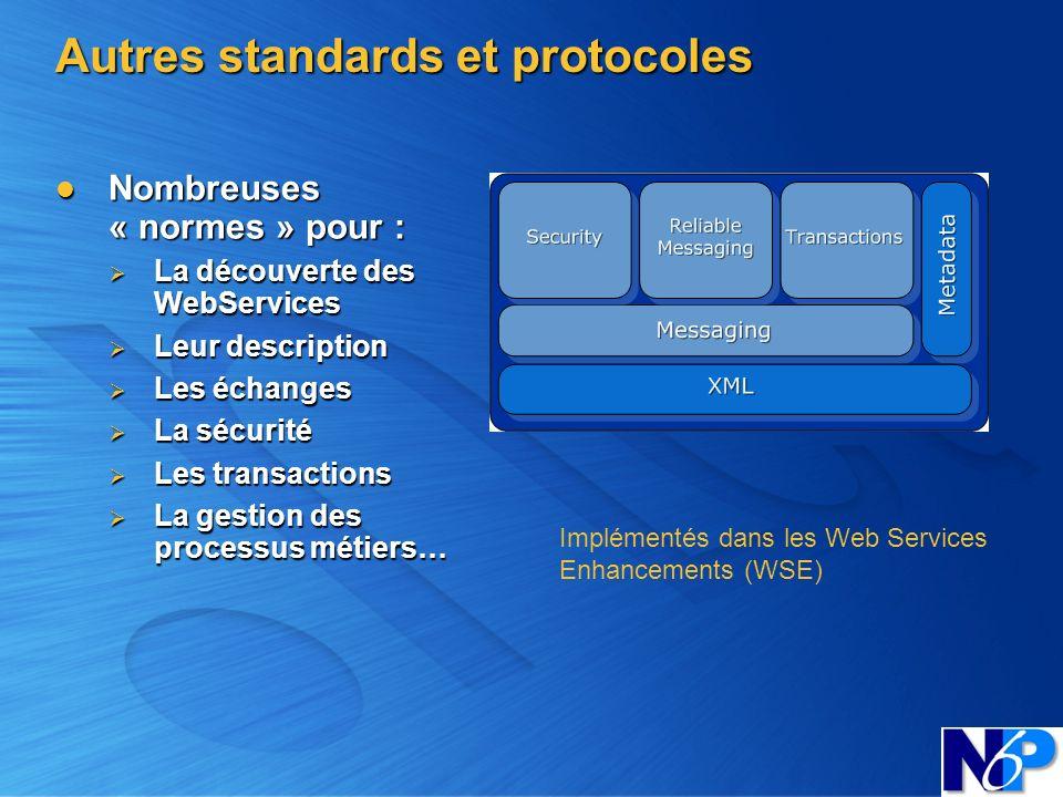 Autres standards et protocoles