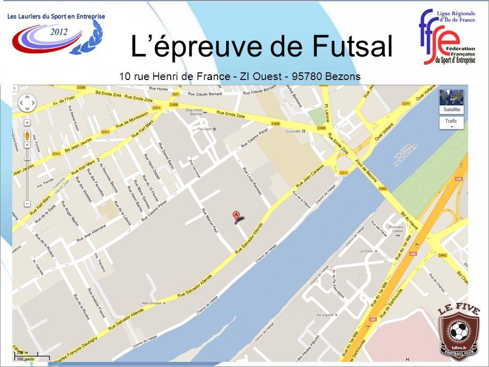 10 rue Henri de France - ZI Ouest - 95780 Bezons