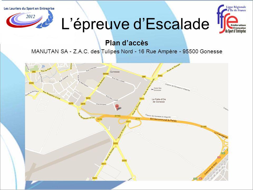 MANUTAN SA - Z.A.C. des Tulipes Nord - 16 Rue Ampère - 95500 Gonesse