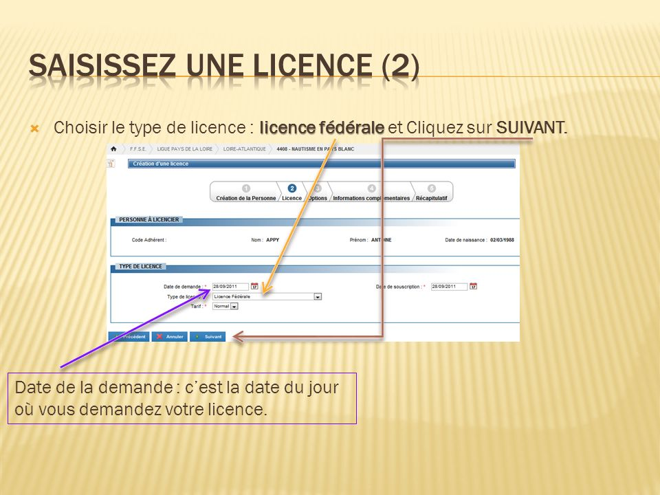 SaisiSSEZ une licence (2)