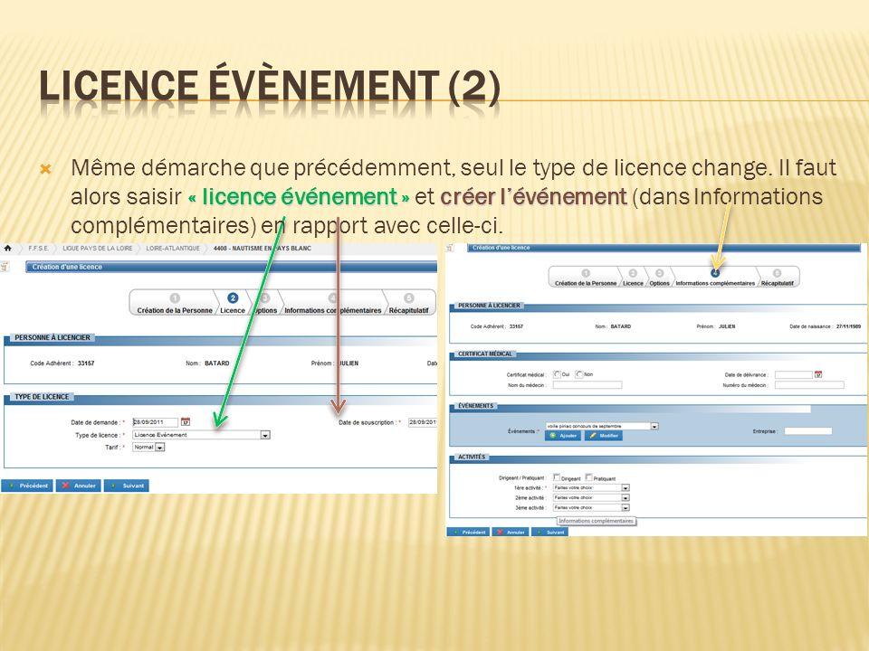 Licence évènement (2)
