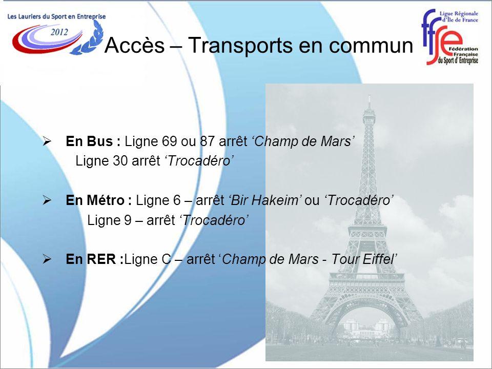 Accès – Transports en commun