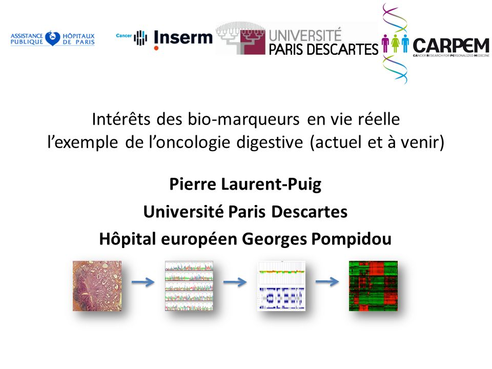 Université Paris Descartes Hôpital européen Georges Pompidou