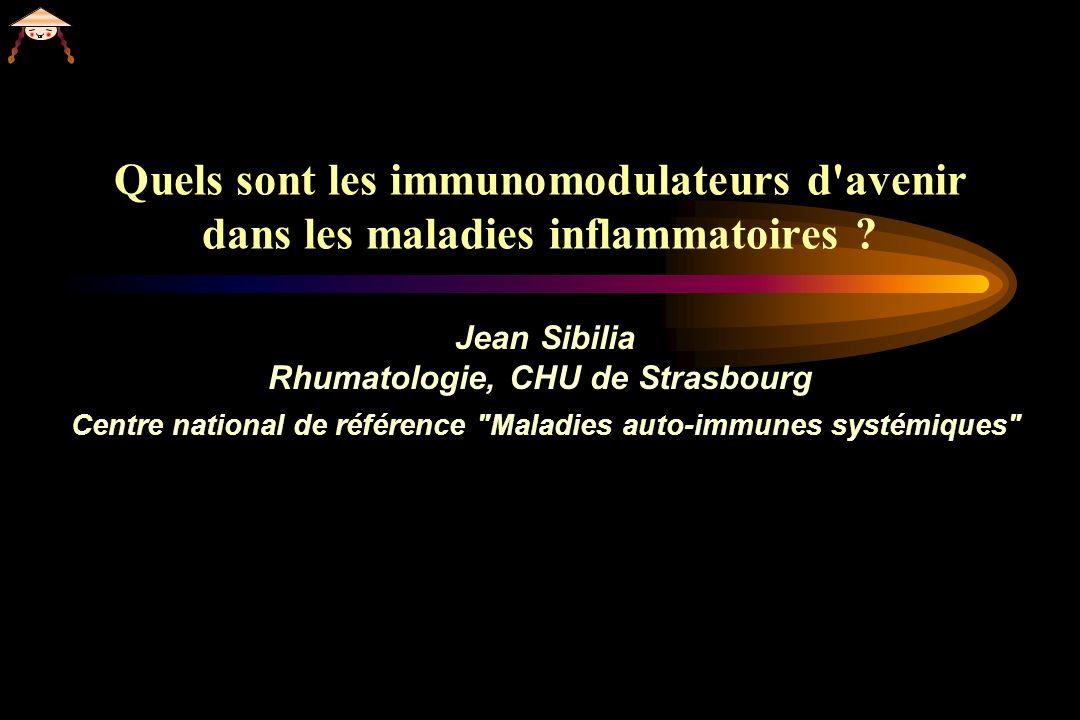 Quels sont les immunomodulateurs d avenir dans les maladies inflammatoires